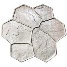 """Форма для печатного бетона """"Рваный камень"""""""