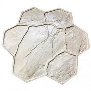 Штамп для печатного бетона Рваный камень F3010B