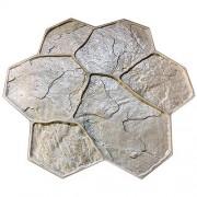 Штамп для печатного бетона Рваный камень F3010C