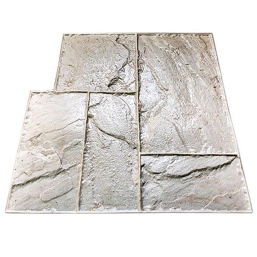 Штамп для печатного бетона Тесаный камень F3060
