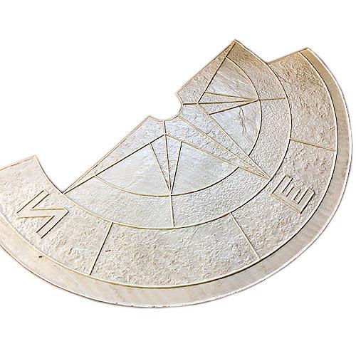 Штамп для печатного бетона Роза ветров F3240B