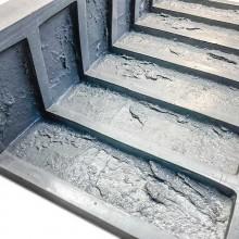 Форма для камня Заводский кирпич угол литой F610C