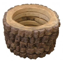 Форма для вазона  Пенек-кольцо