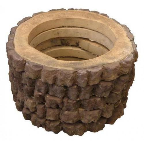 Пенёк-кольцо М (45) форма для брусчатки