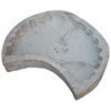 Полупенёк М (45) форма для брусчатки