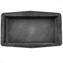 Кирпичик шагрень М (45) форма для брусчатки