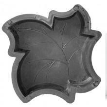 Кленовый лист М (45) форма для брусчатки