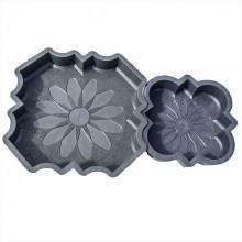Ромашка М (45) комплект форм для брусчатки