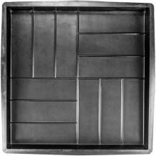 Форма для тротуарной плитки 12 кирпичей 500х500х50 Т