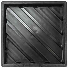 Форма для тактильной плитки Диагональные рифы Т (50)