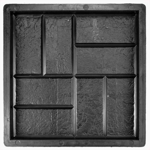 Форма для тротуарной плитки 8 кирпичей камень В (30)