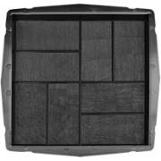 Форма для тротуарной плитки 8 кирпичей 400х400 В