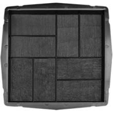 Форма для тротуарной плитки 8 кирпичей 400х400 шагрень В (50)