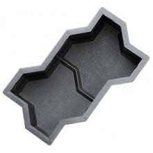 Форма для брусчатки Волна рельефная шагрень В (50)