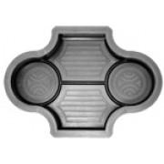 Форма для брусчатки Рокко рельеф В