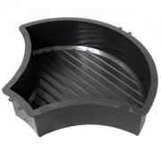 Форма для брусчатки Чешуя рифленая В (25)