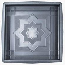 Форма для тротуарной плитки Калейдоскоп 300х300 В (30)