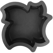 Форма для брусчатки Кленовый лист шагрень В (60)