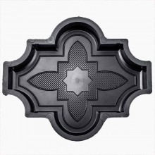 Форма для брусчатки Клевер цветок В (45)