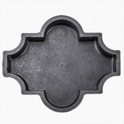 Форма для брусчатки Клевер шагрень В (60)