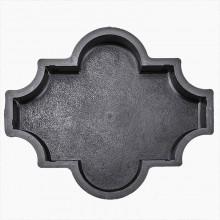 Форма для брусчатки Клевер шагрень В (45)