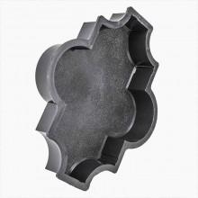 Форма для брусчатки Клевер шагрень В (25)