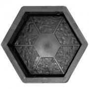 Форма для брусчатки Шестигранник сегменты В