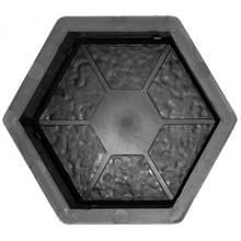 Форма для брусчатки Шестигранник сегменты