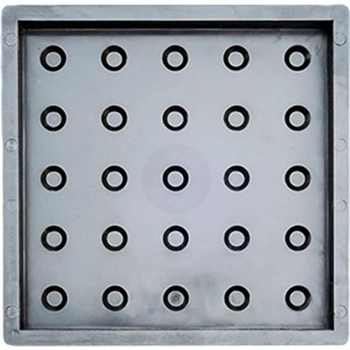 Тактильная плитка. Усеченные конусы в линейном порядке 50 мм