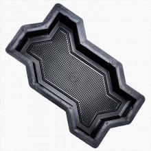 Форма для брусчатки Волна горошек В (45)