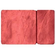 Брусчатка Брук комбинированный. Цвет красный