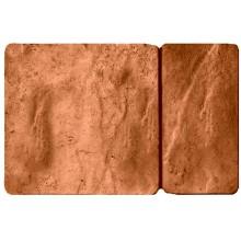 Брусчатка Брук комбинированный. Цвет коричневый