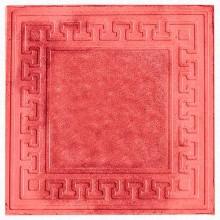 Тротуарная плитка Готика 30 мм (красная)