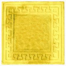 Тротуарная плитка Готика 30 мм (желтая)