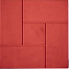 Тротуарная плитка Калифорния 30 мм (красная)