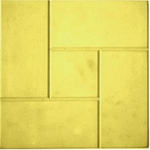 Тротуарная плитка Калифорния 30 мм (желтая)