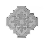 Брусчатка Клевер краковский (большая серая) 25 мм