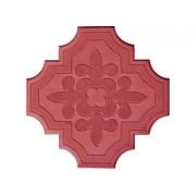 Брусчатка Клевер краковский (большая красная) 25 мм