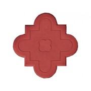 Брусчатка Клевер краковский (маленькая красная) 25 мм