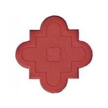 Брусчатка Клевер краковский (маленькая красная)