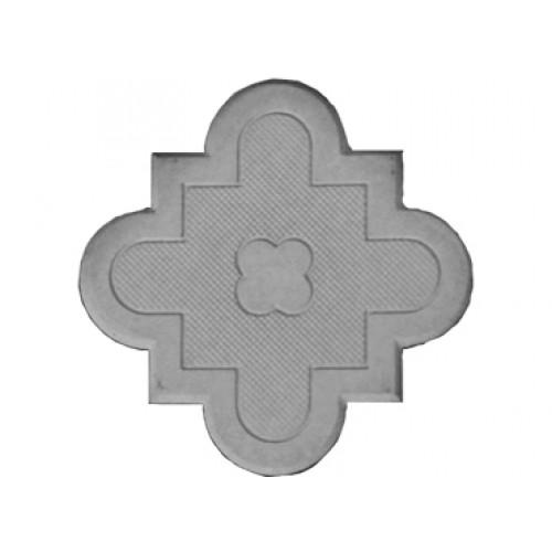 Брусчатка Клевер краковский (маленькая серая) 45 мм