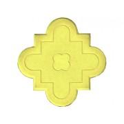 Брусчатка Клевер краковский (маленькая желтая) 25 мм