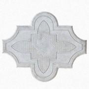 Брусчатка Клевер цветок  (серая)
