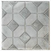 Тротуарная плитка 3D Ковер 30 мм (серая)