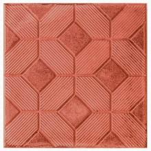 Тротуарная плитка 3D Ковер 30 мм (красная)
