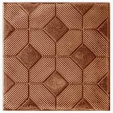 Тротуарная плитка 3D Ковер 30 мм  (коричневая)