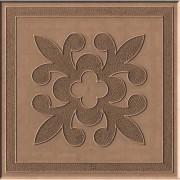 Тротуарная плитка Краковский квадрат 30 мм (коричневая)