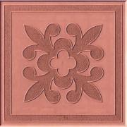 Тротуарная плитка Краковский квадрат 30 мм (красная)