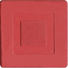 Брусчатка Мозаика квадрат (красная)