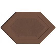 Брусчатка Мозаика 6-угольник (коричневая)